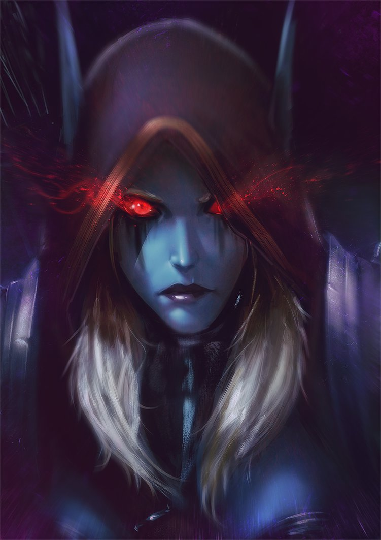 call_of_the_dark_lady_by_raikoart-d9xp1m4.png.jpg - World of Warcraft