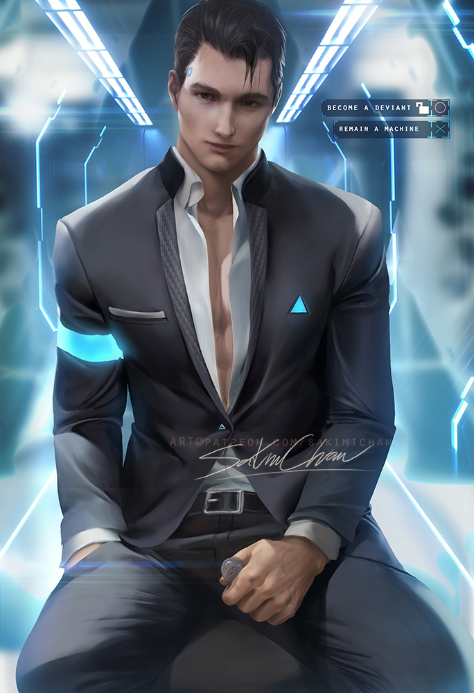 connor_sfwn_by_sakimichan-dcie064.jpg - Detroit: Become Human