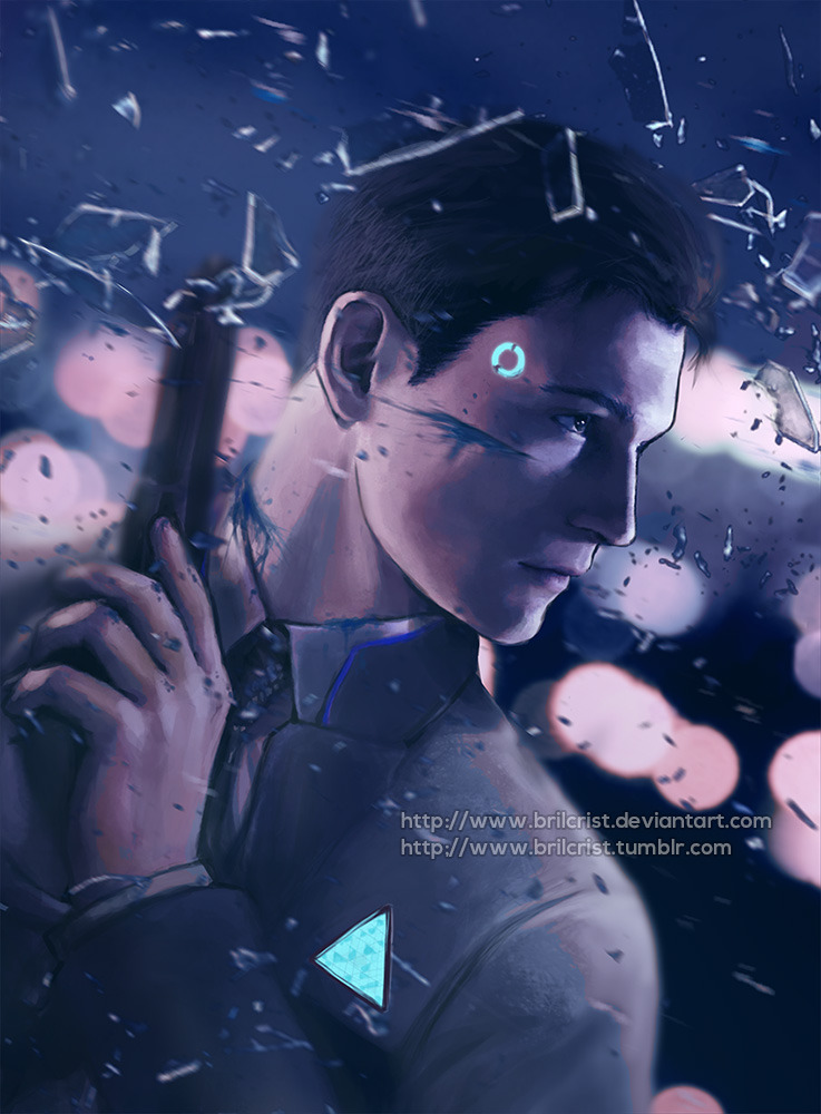 by Brilcrist - Detroit: Become Human Арт