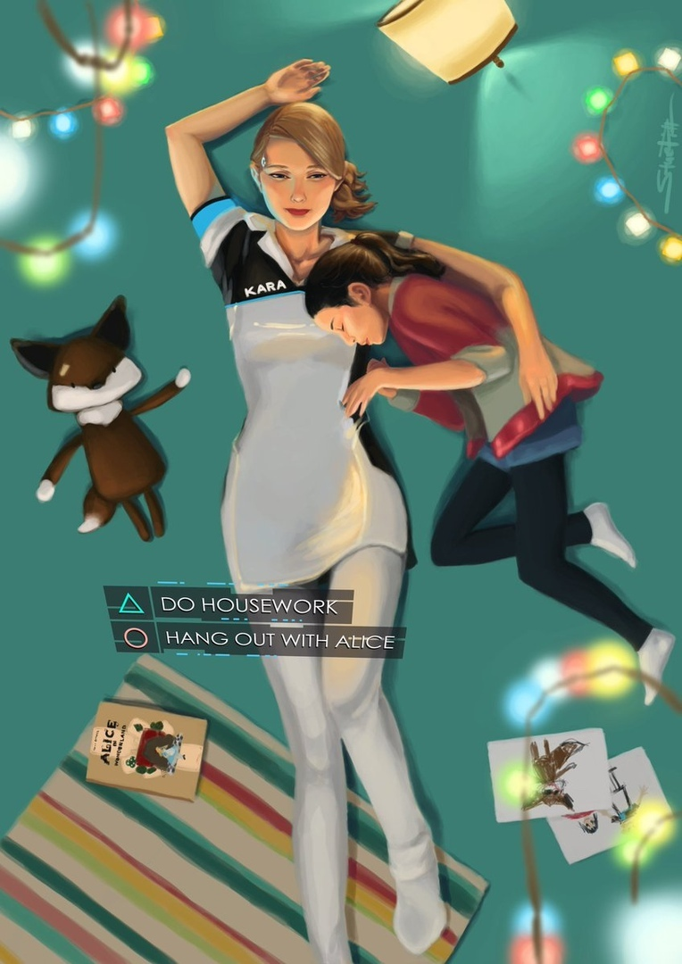 by IamStuePitt - Detroit: Become Human Арт