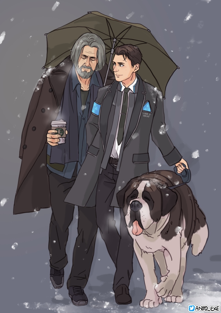 by anto_exe - Detroit: Become Human Арт