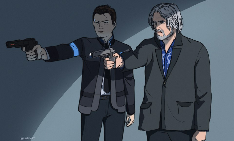 by Umbrasyl - Detroit: Become Human Арт