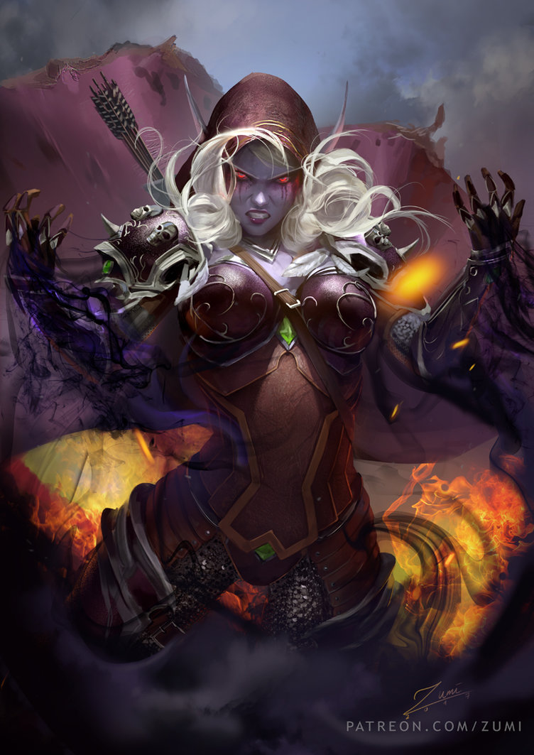sylvanas31_armored_by_zumidraws-dbtx7xl.jpg - World of Warcraft