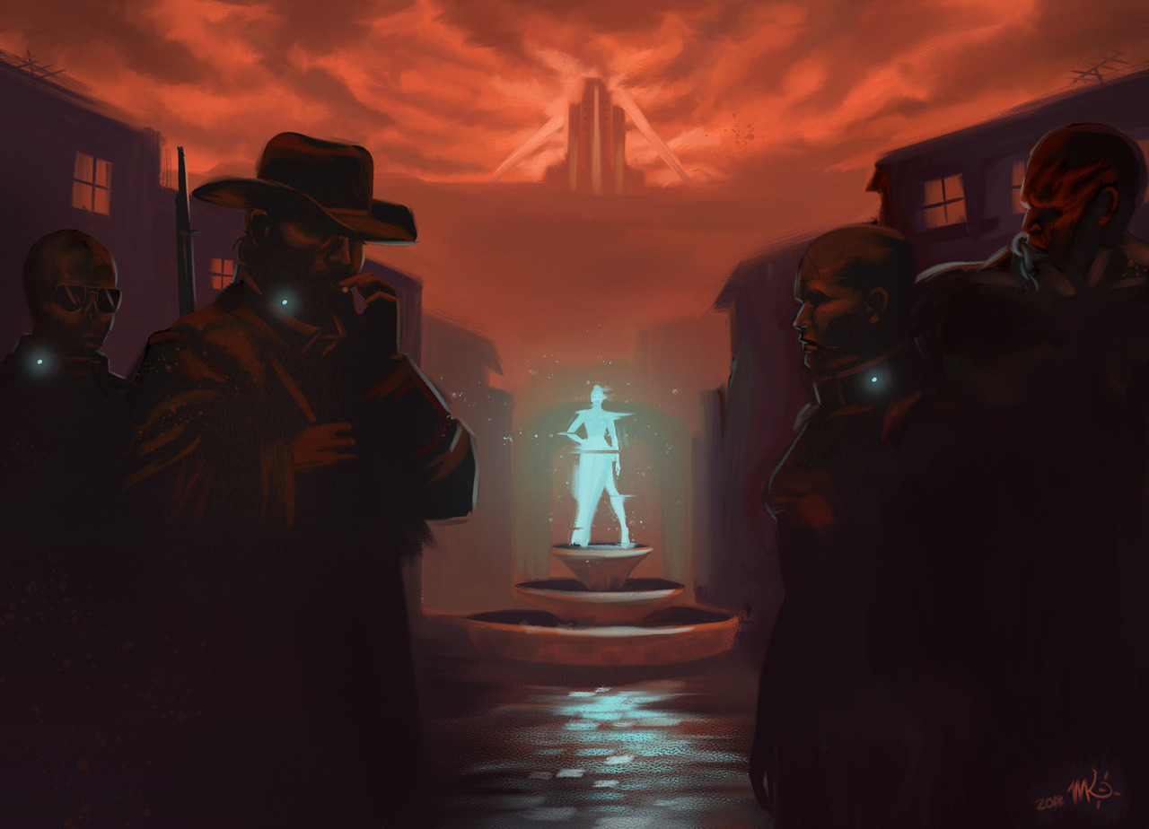 by morgankrieg - Fallout: New Vegas Арт
