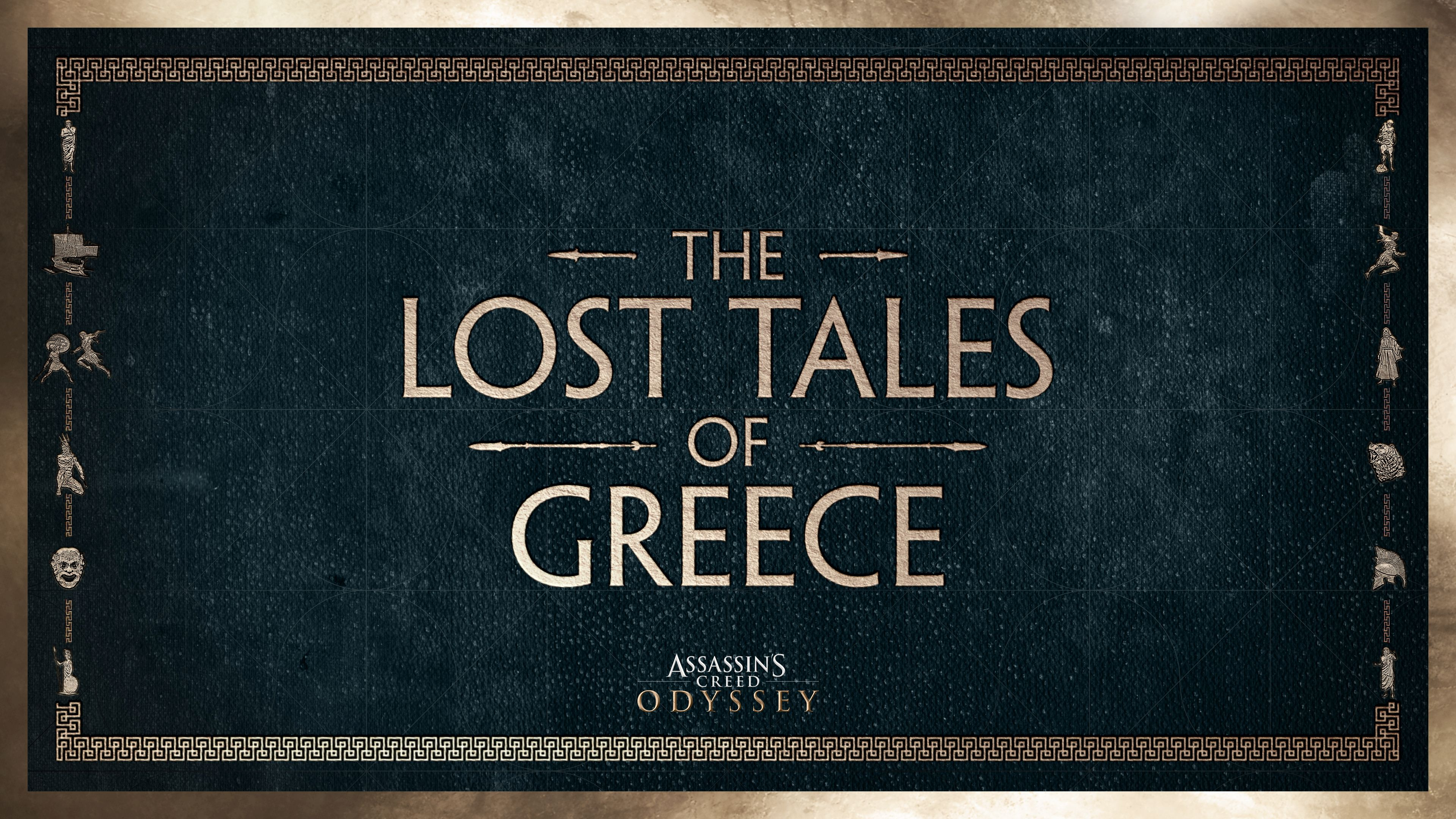The Lost Tales of Greece - Assassin's Creed: Odyssey Арт