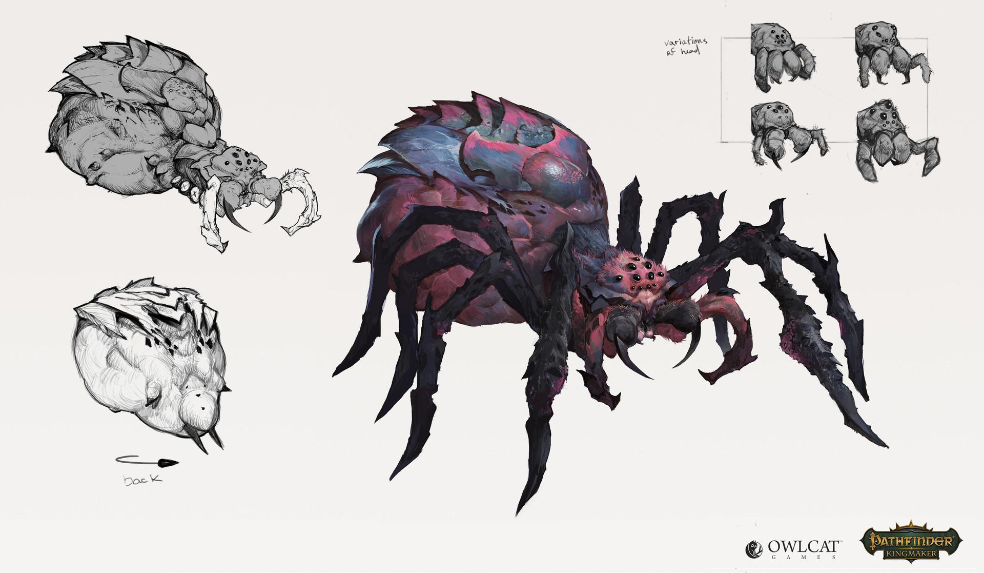 Паук - Pathfinder: Kingmaker Арт
