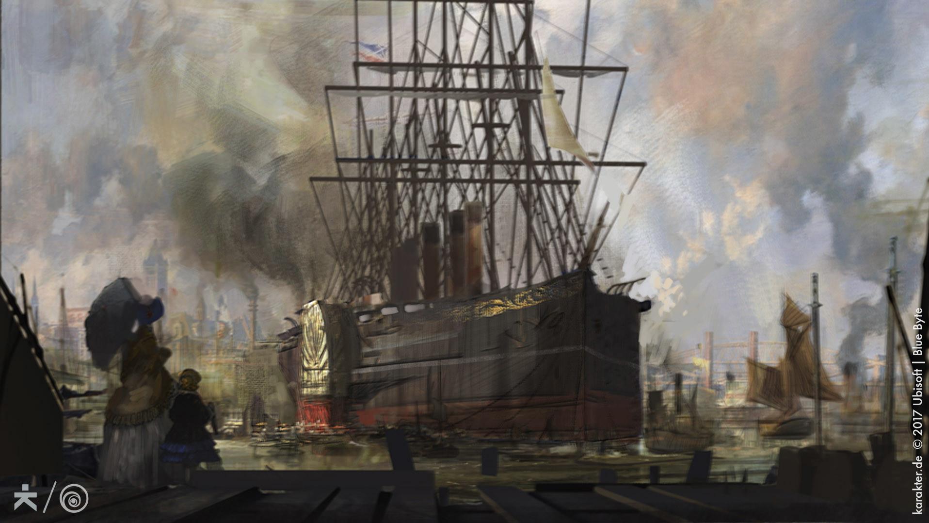Корабль - Anno 1800 Арт