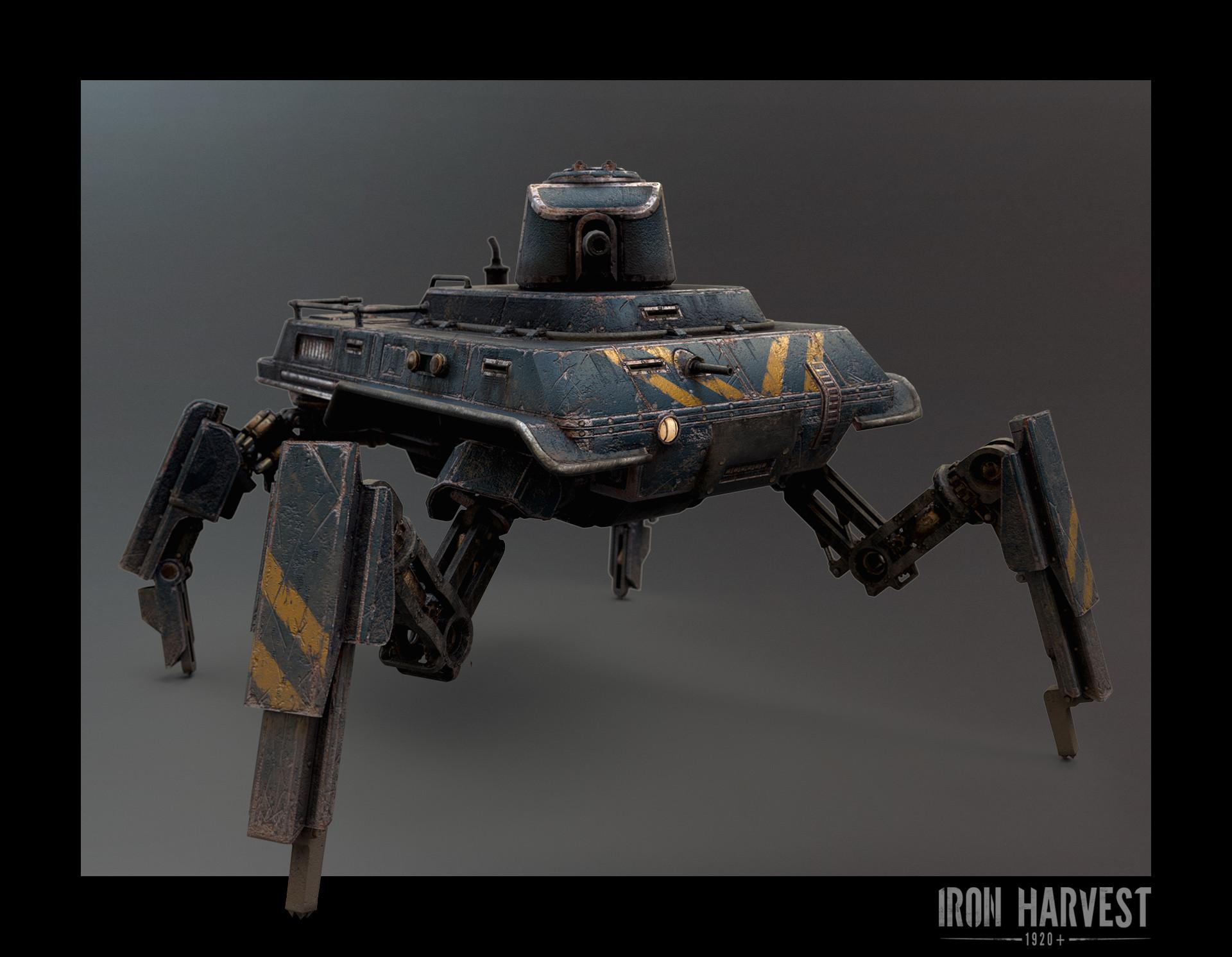 Средний танк (Саксония) - Iron Harvest Рендер