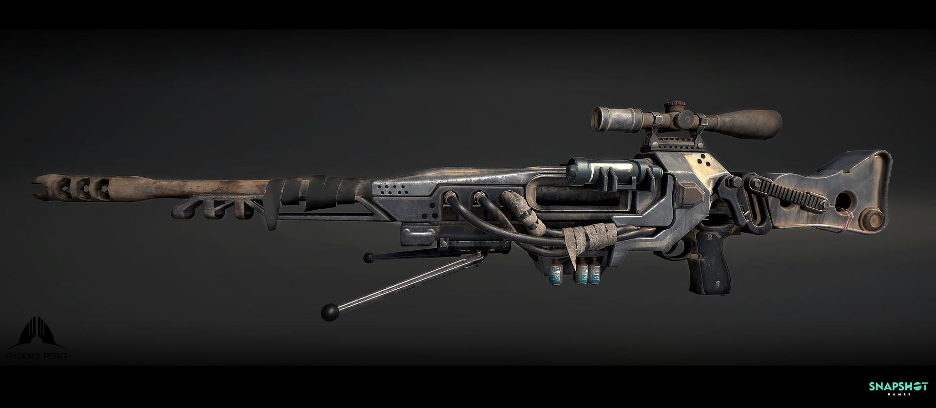 Оружие - Phoenix Point Рендер