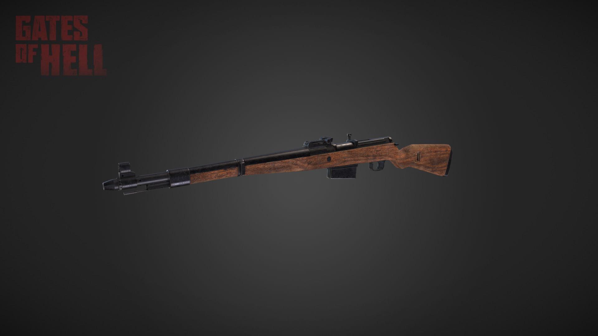 Gewehr 43 - Gates of Hell Рендер