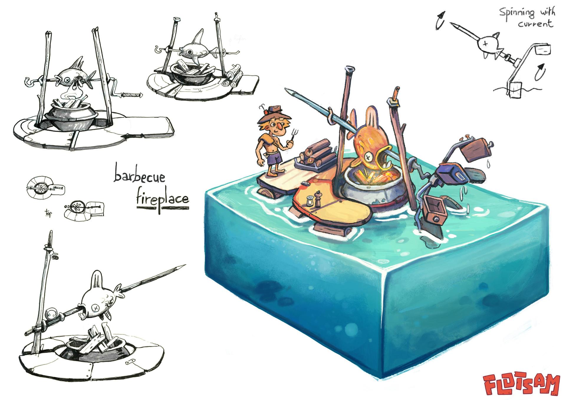 Рыба - Flotsam Арт