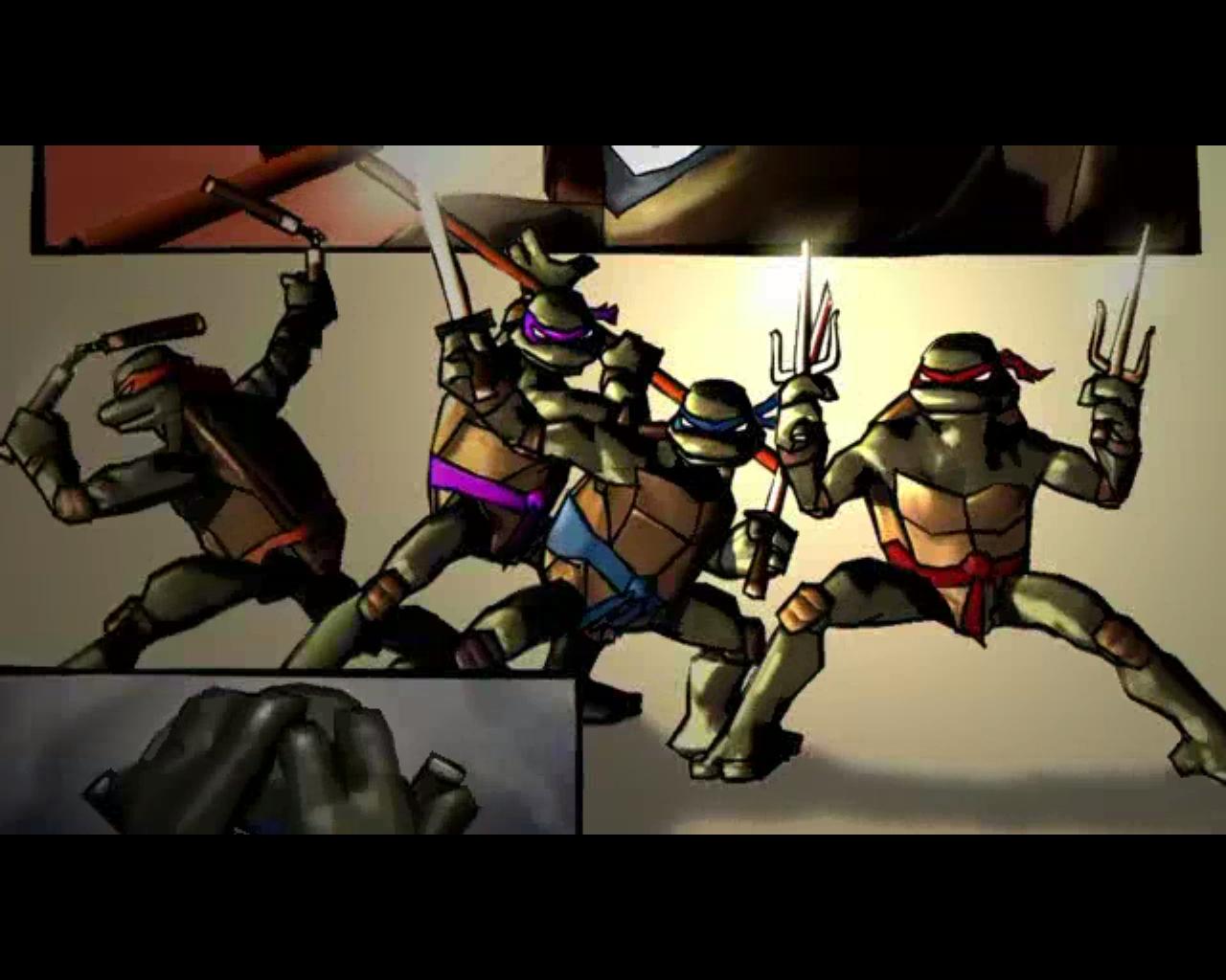 черепашки - Teenage Mutant Ninja Turtles: Video Game