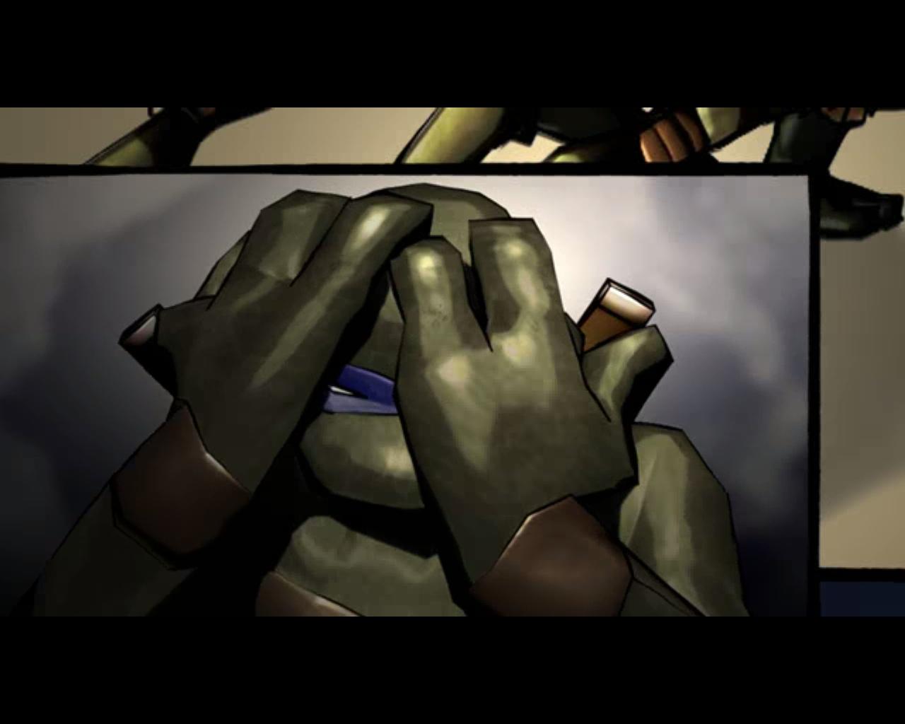 леонардо - Teenage Mutant Ninja Turtles: Video Game