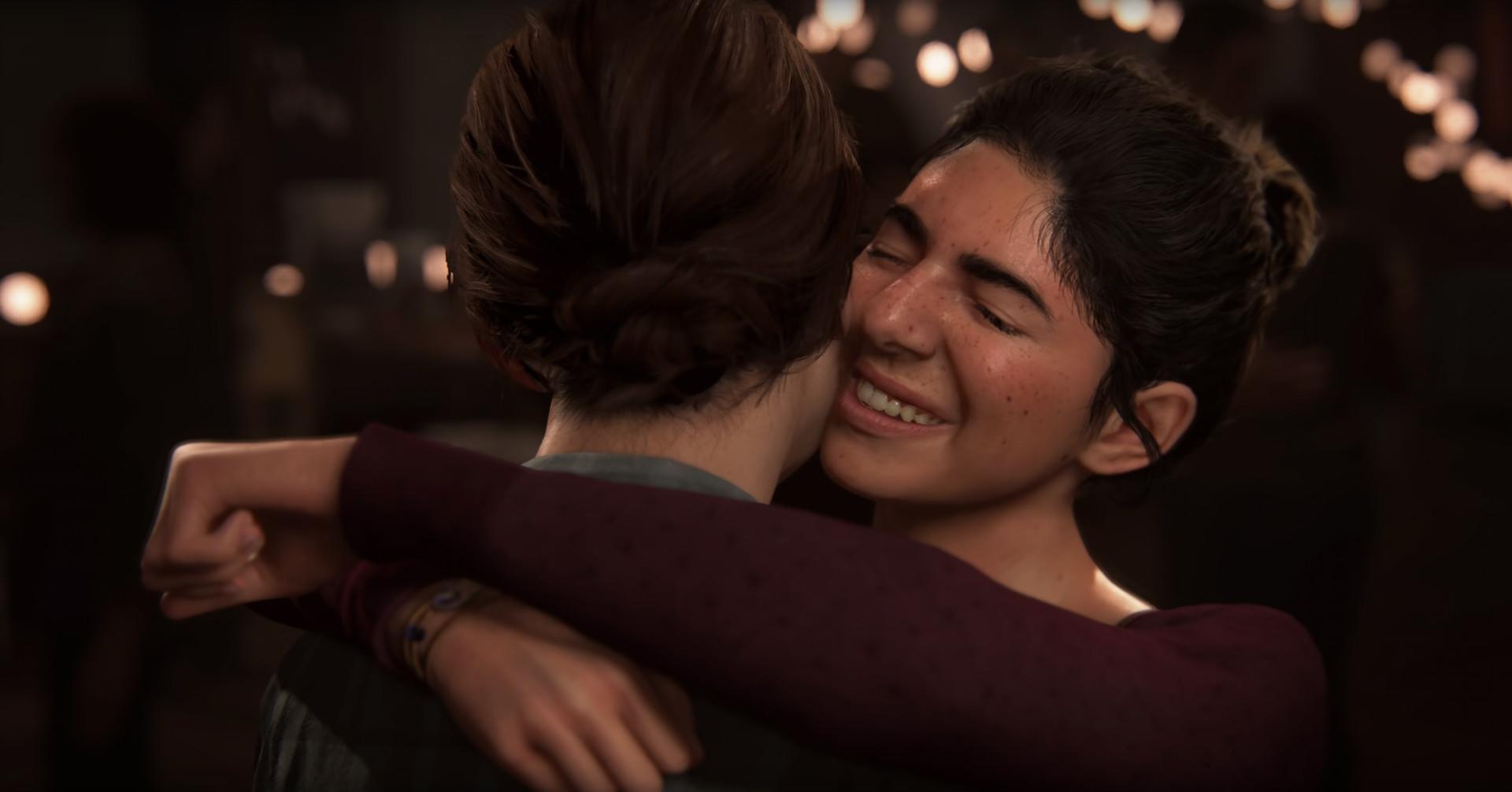 Элли и Дина - Last of Us: Part 2, the