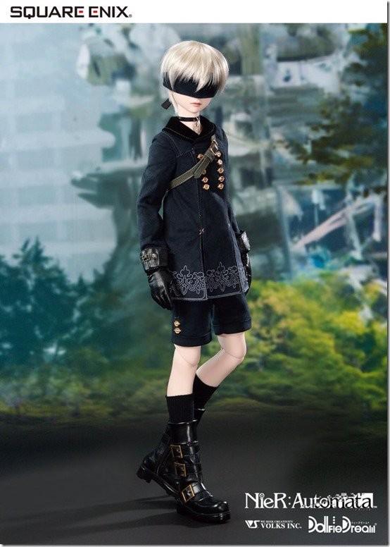 новые куклы 2B и 9S - NieR: Automata