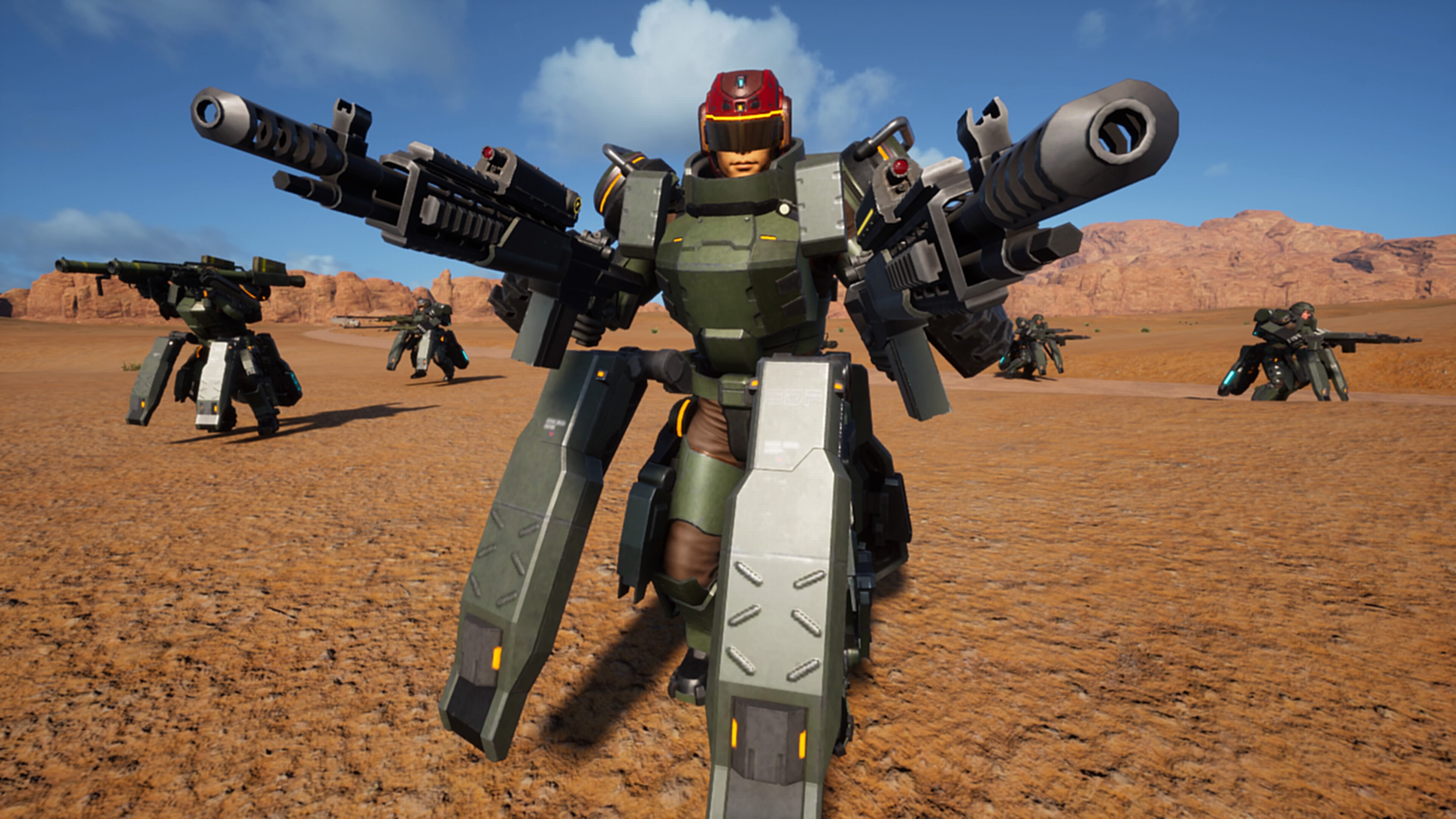 Earth Defense Force: Iron Rain - Earth Defense Force: Iron Rain 4K, Скриншот