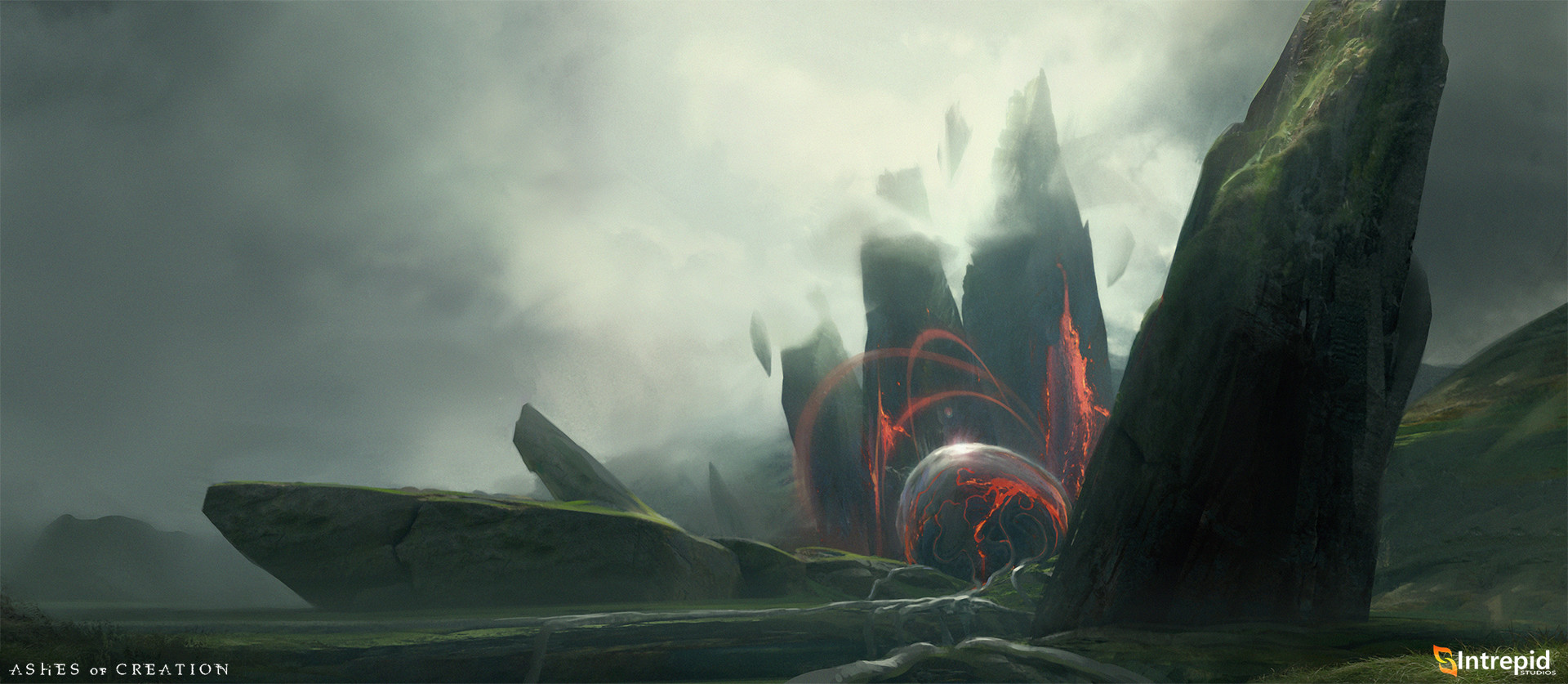 Локация - Ashes of Creation Арт