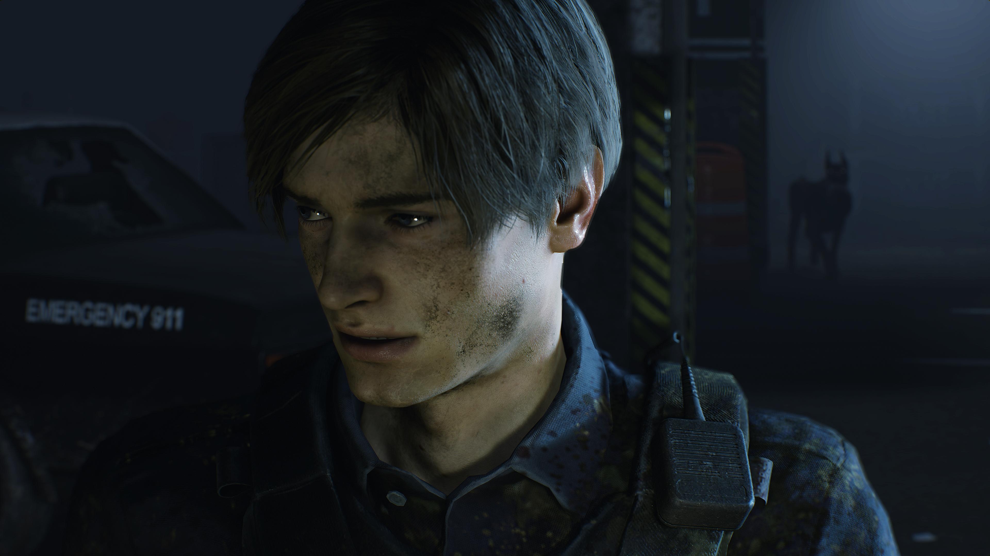 Леон - Resident Evil 2 4K