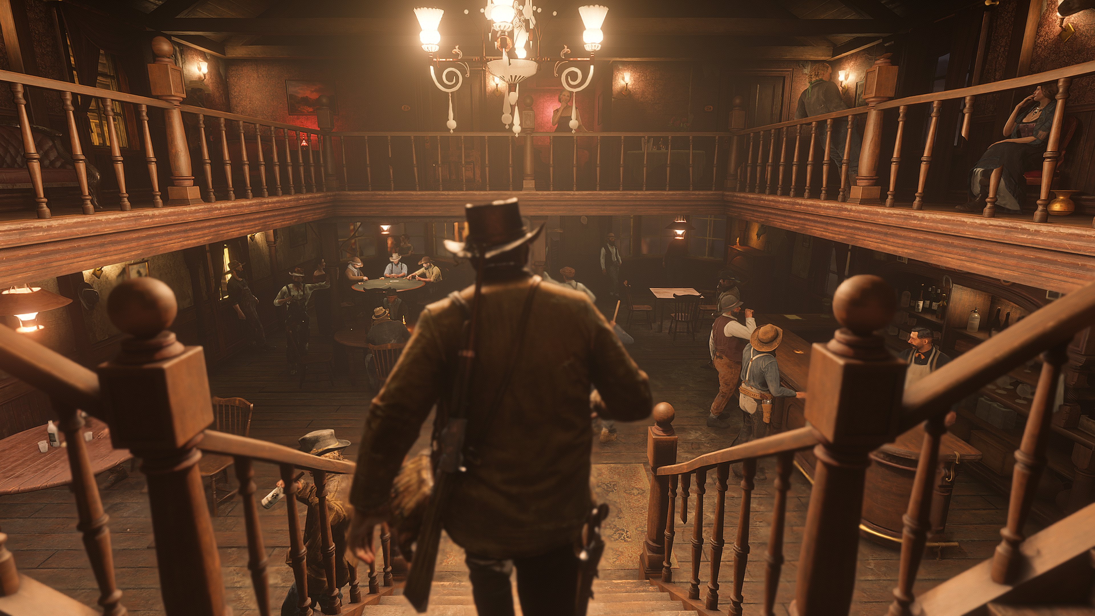 Red Dead Redemption 2 - Red Dead Redemption 2 4K, Скриншот