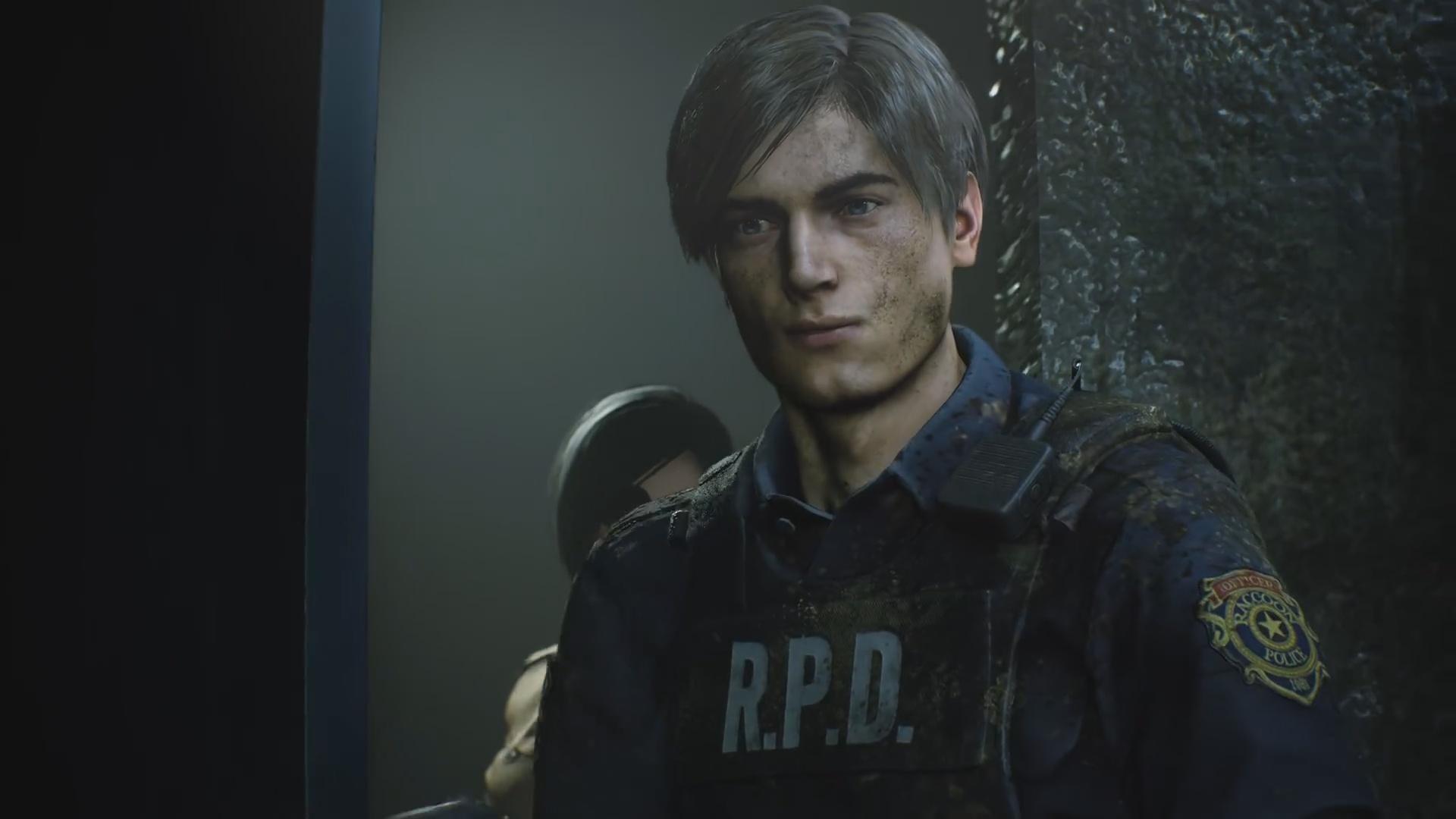 Resident Evil 2 Remake новый Леон Скотт Кеннеди - Resident Evil 2
