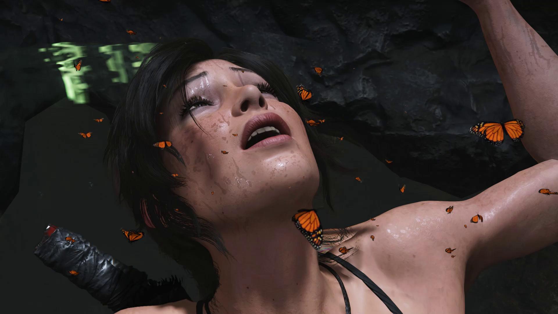 Когда бабочки в животе - Shadow of the Tomb Raider