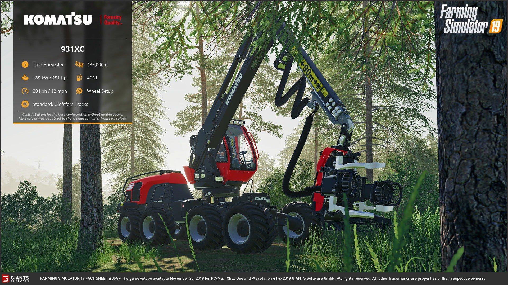 Техника - Farming Simulator 19