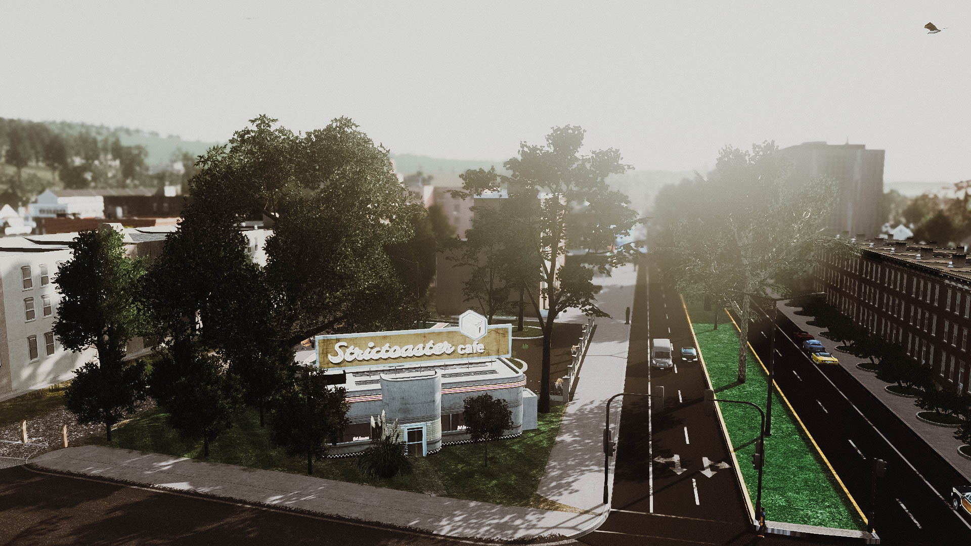 Маленький городок - Cities: Skylines