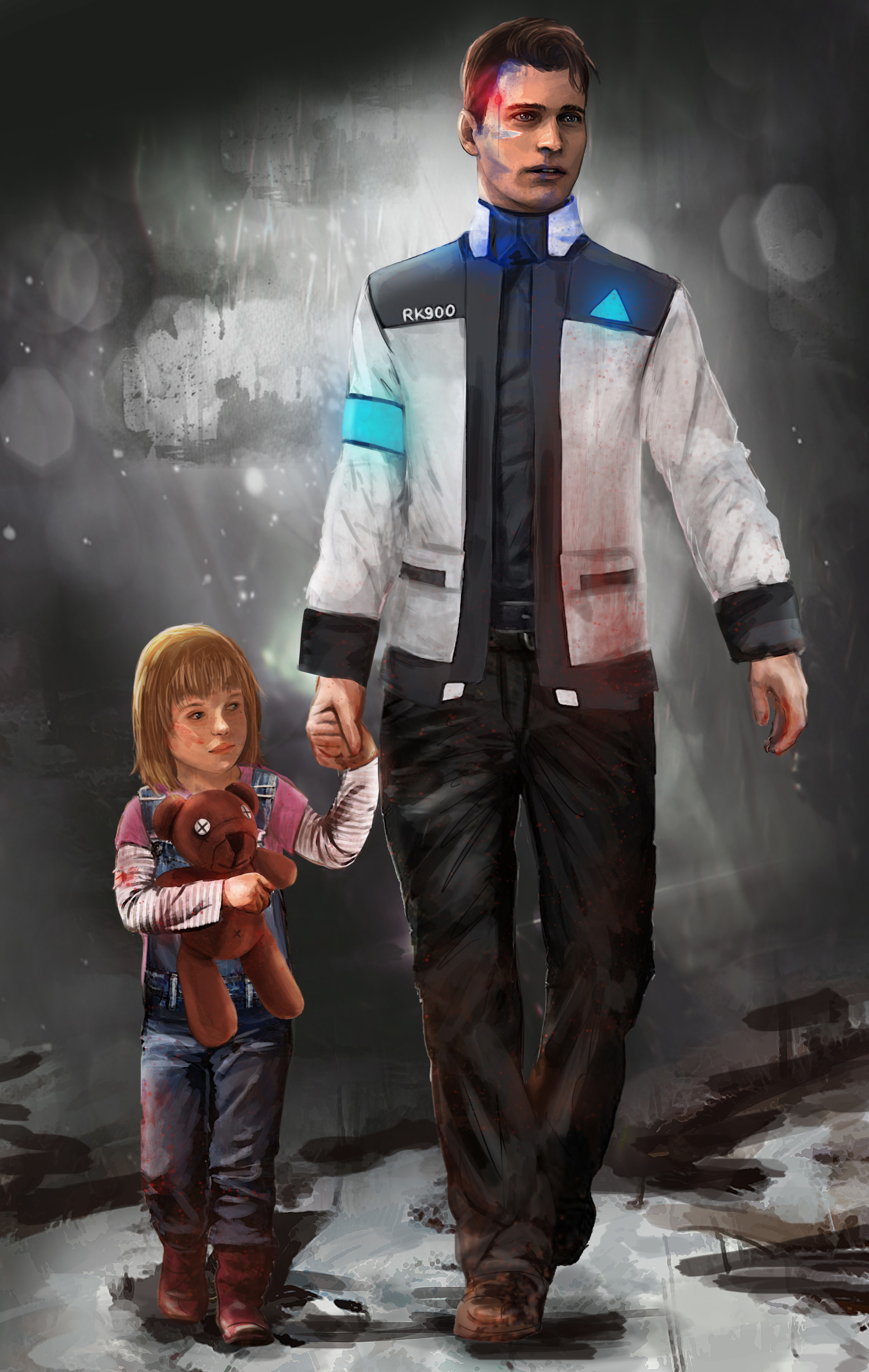 by Mel Any - Detroit: Become Human Арт