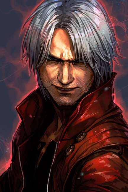 by hungry_clicker - Devil May Cry 5 Арт