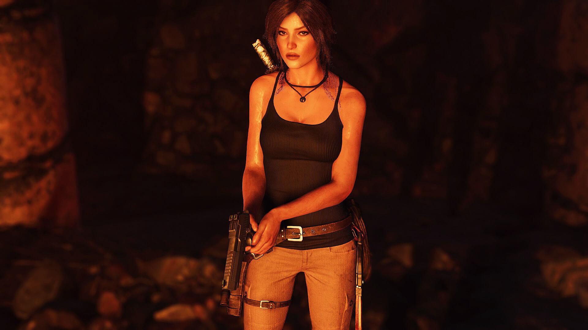 Энтузиаст перенес лицо каноничной Лары в Shadow of the Tomb Raider - Shadow of the Tomb Raider