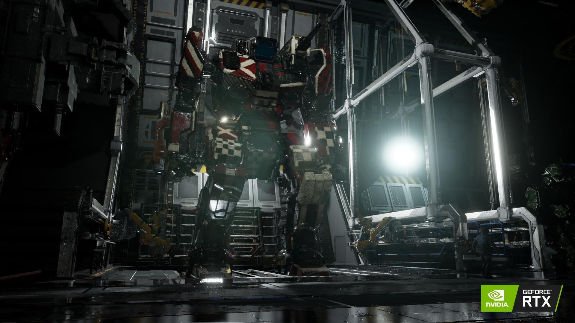 NVIDIA RTX Ray Tracing - MechWarrior 5: Mercenaries