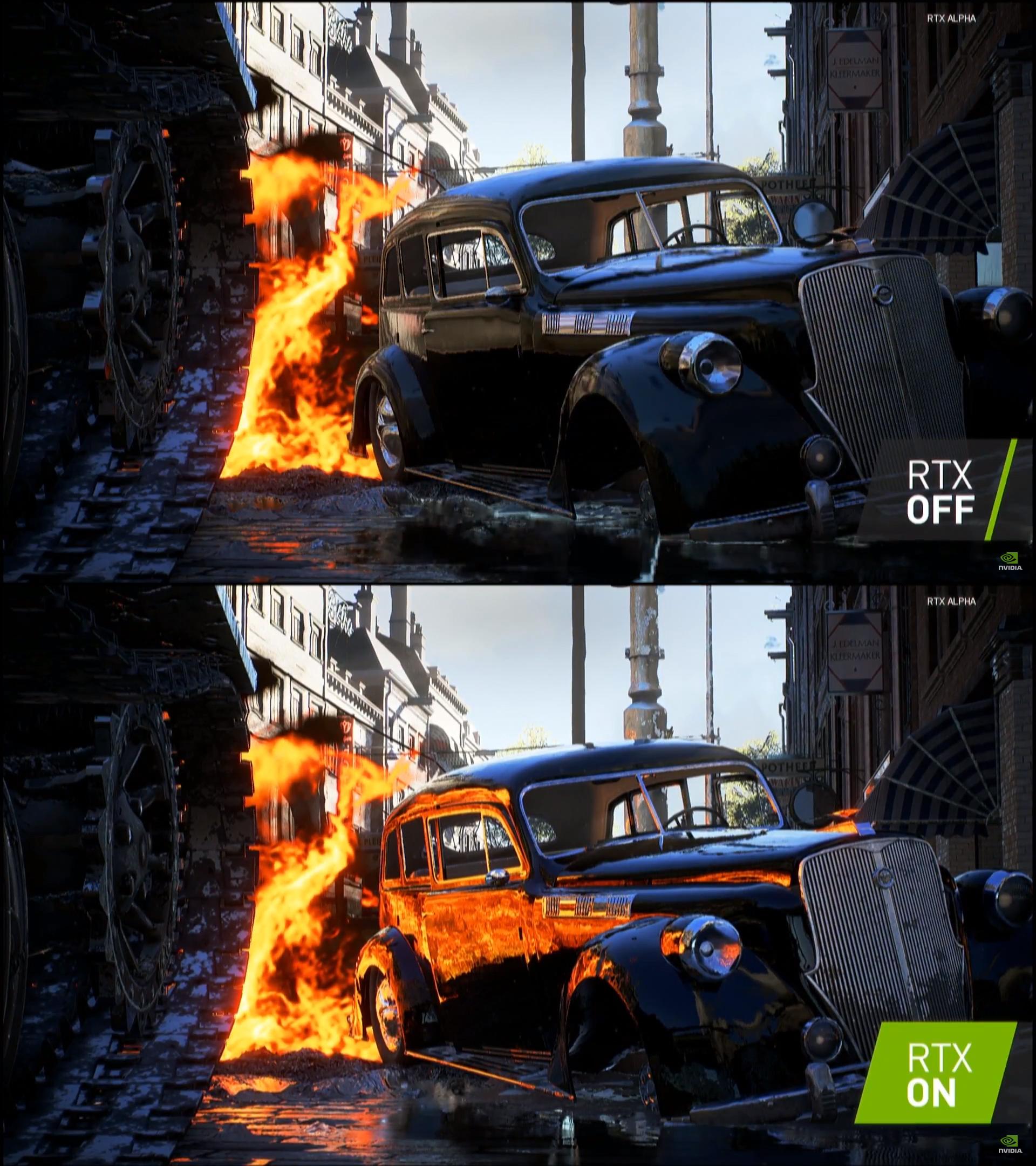 RTX Off / RTX On - Battlefield V