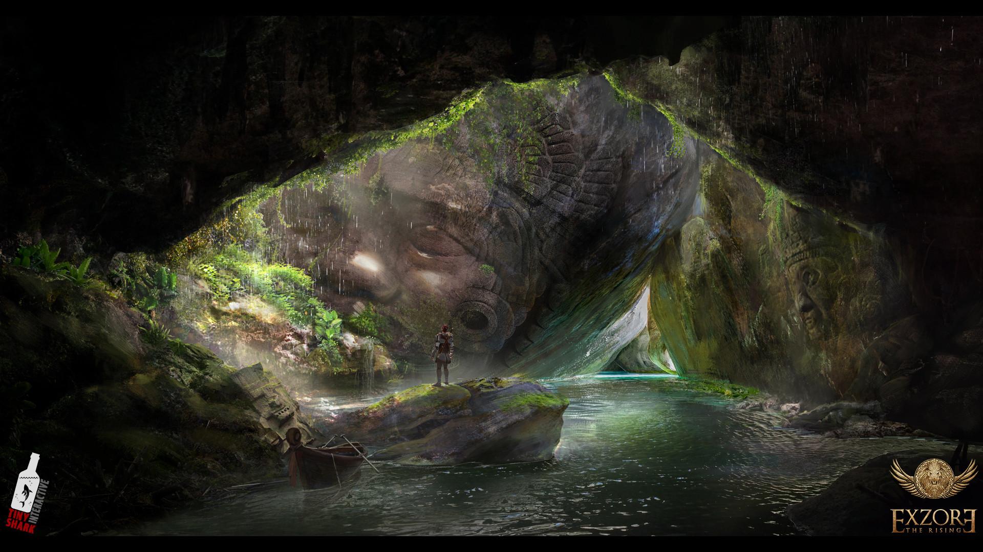 Пещера - Exzore: The Rising Арт