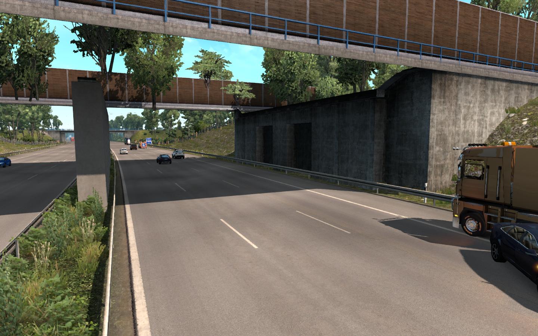 Висячие сады Семирамиды - Euro Truck Simulator 2