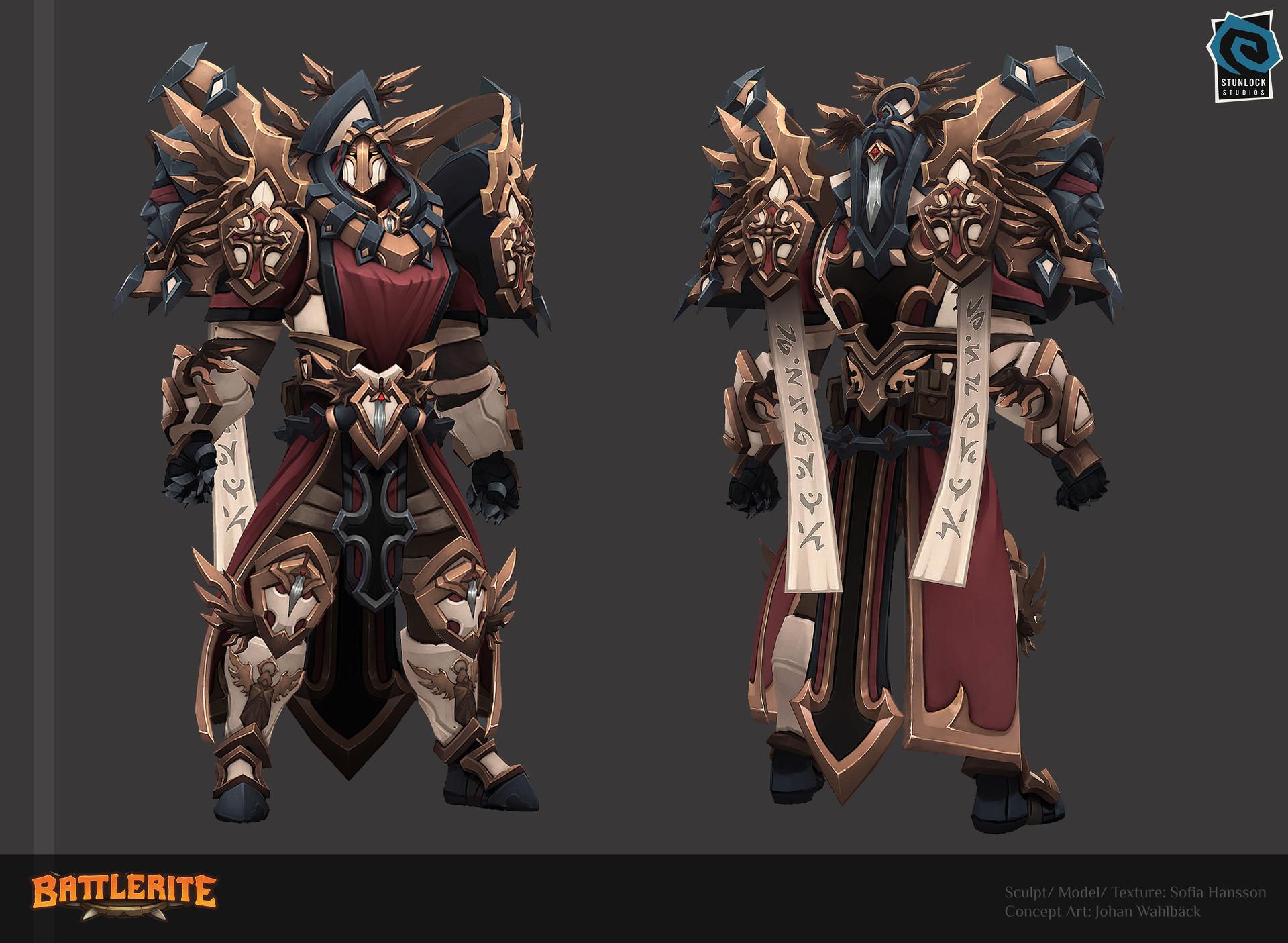 Warden Of The Light - Battlerite Арт
