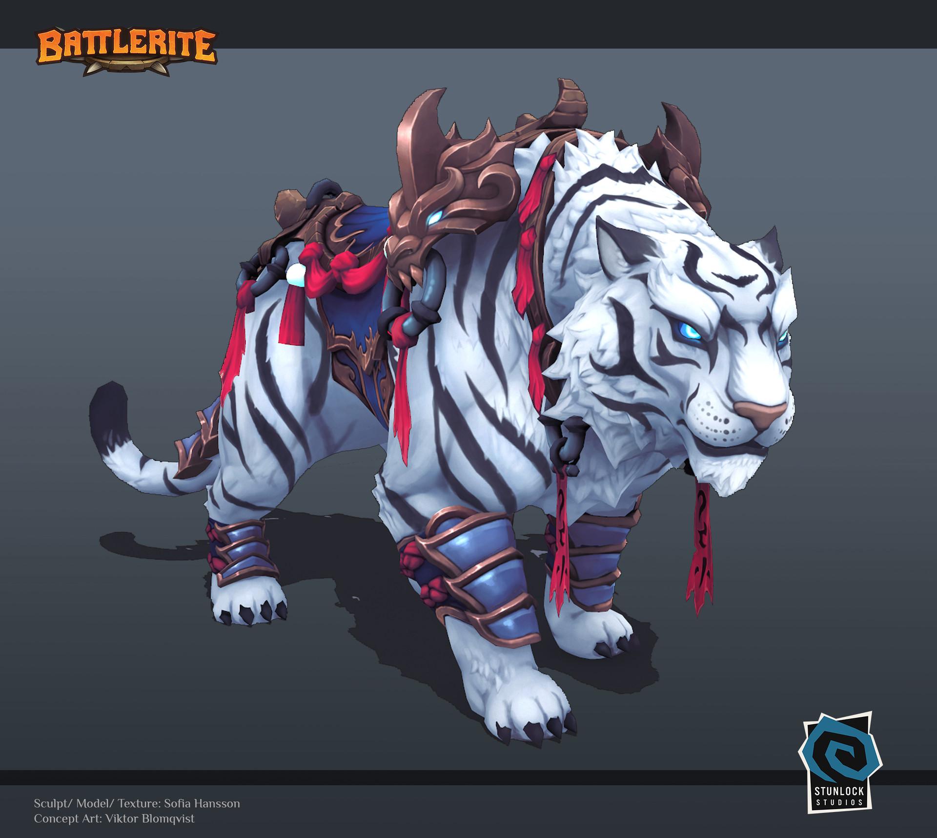 Nexon Tiger - Battlerite Арт