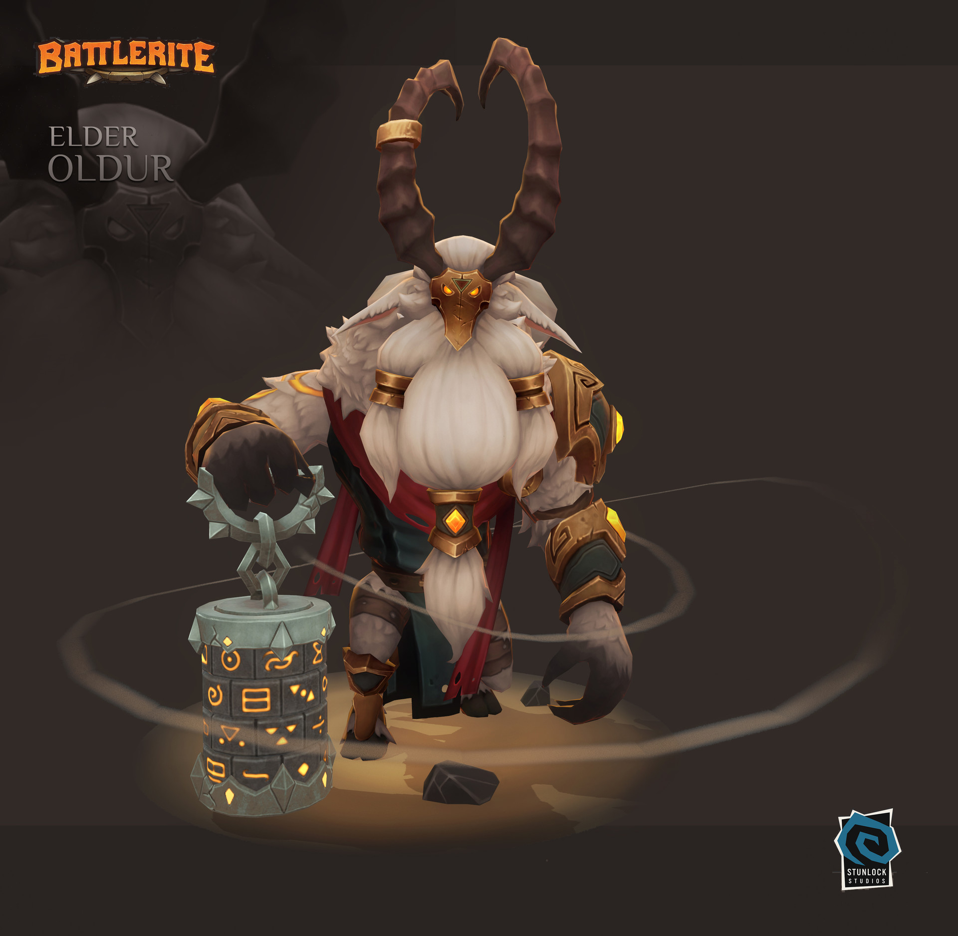Elder Oldur - Battlerite Арт