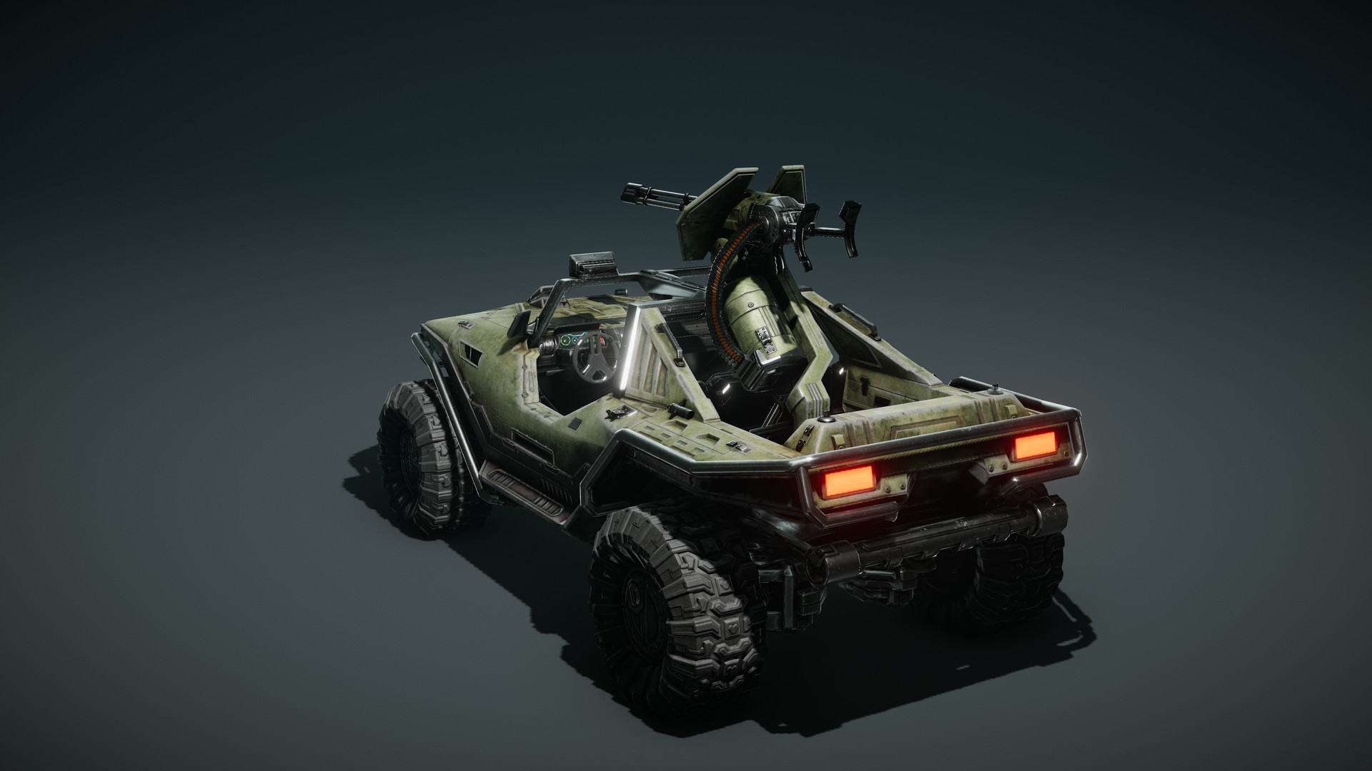 Warthog - Installation 01 Автомобиль, Рендер