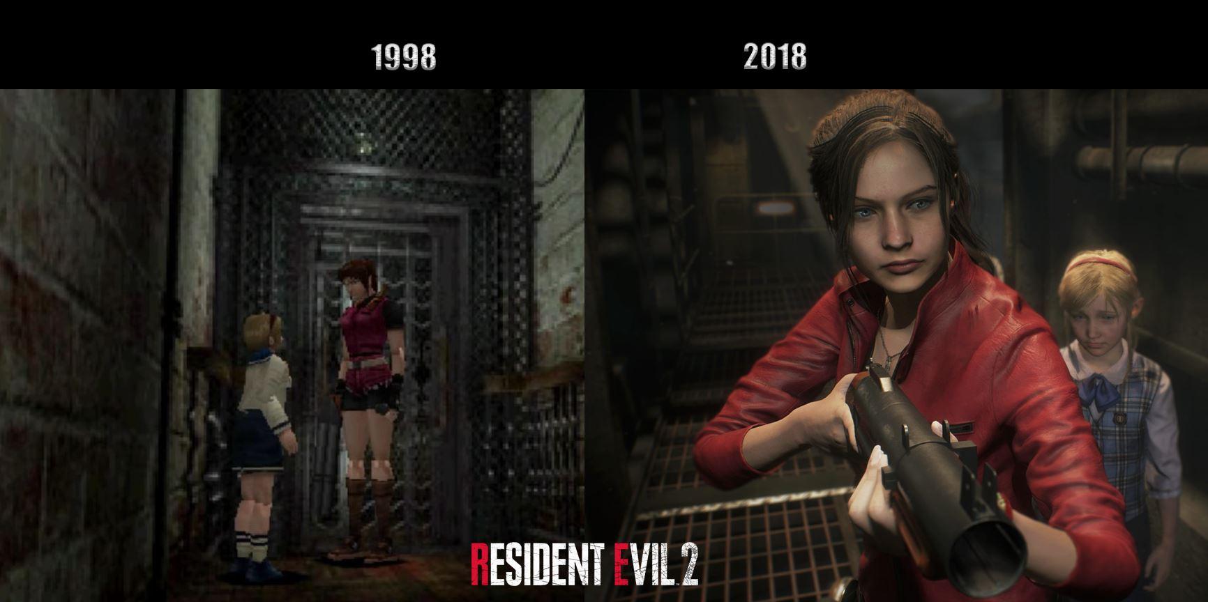 Оригинал vs Ремейк - Resident Evil 2
