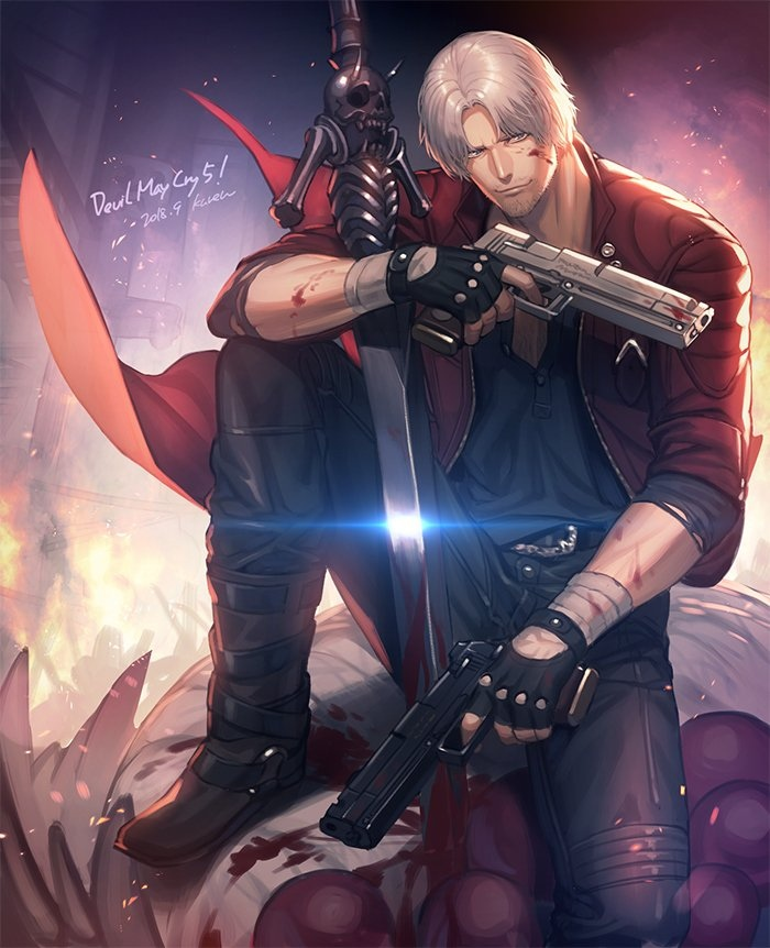 by kuren62 - Devil May Cry 5 Арт