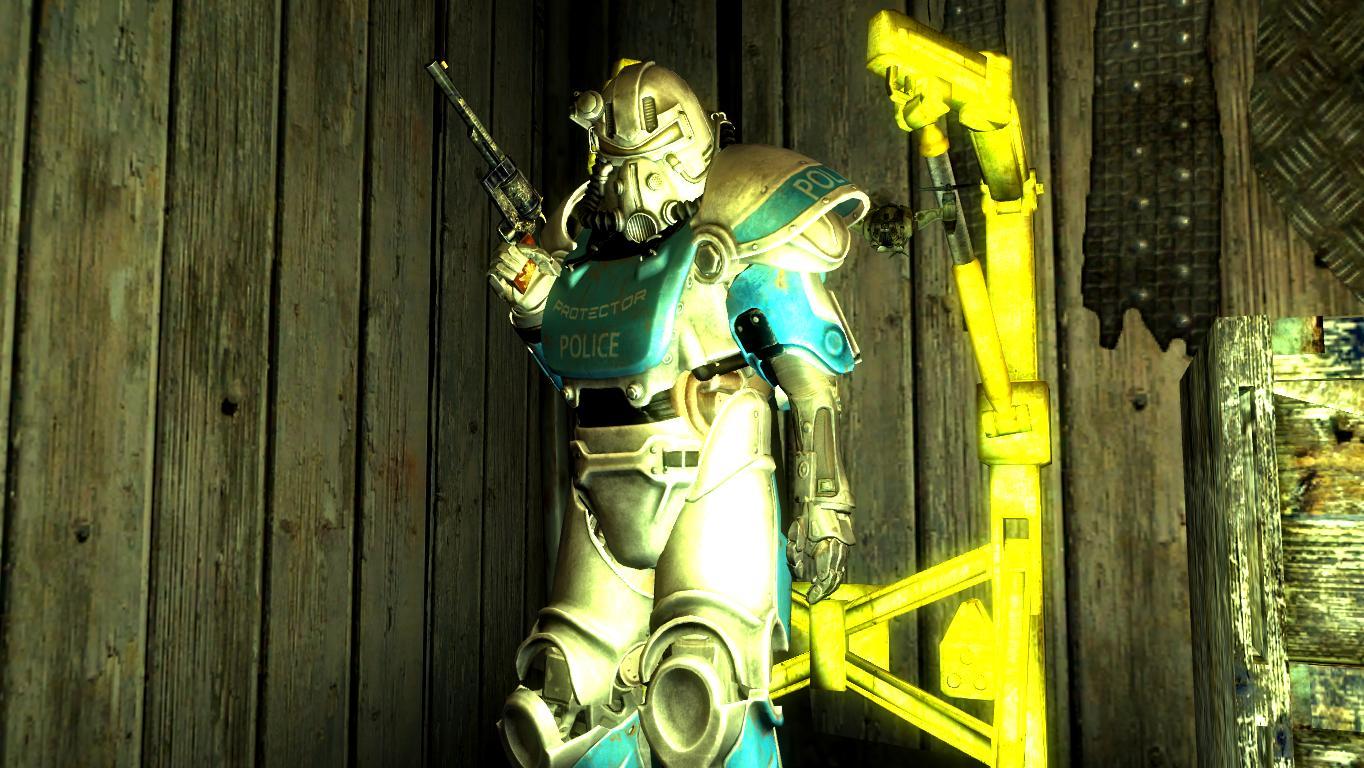 Полицейский экзокомплект. - Fallout: New Vegas