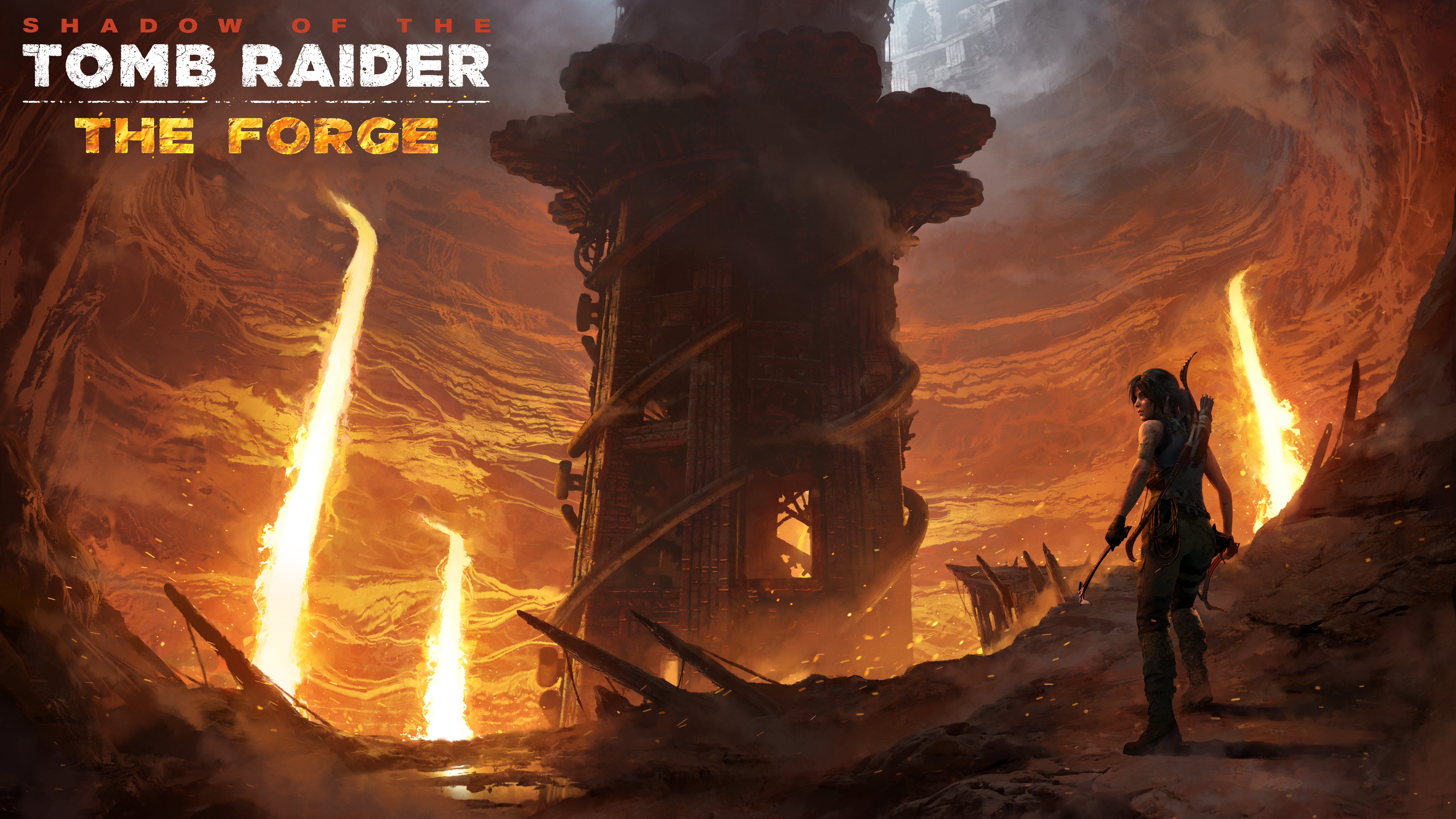 The Forge - Shadow of the Tomb Raider 9K, DLC, Арт