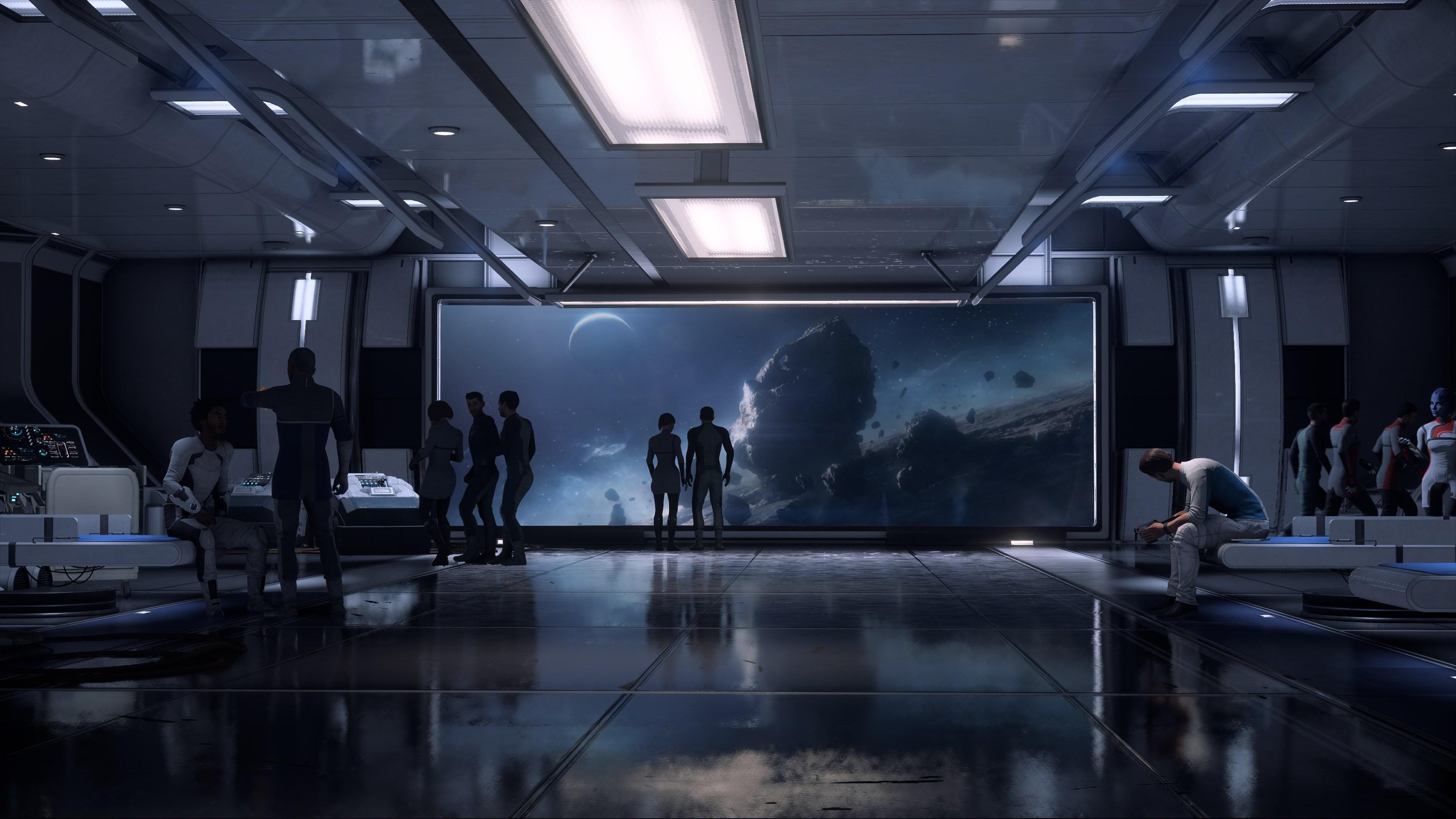 Максимальные настройки графики - Mass Effect: Andromeda