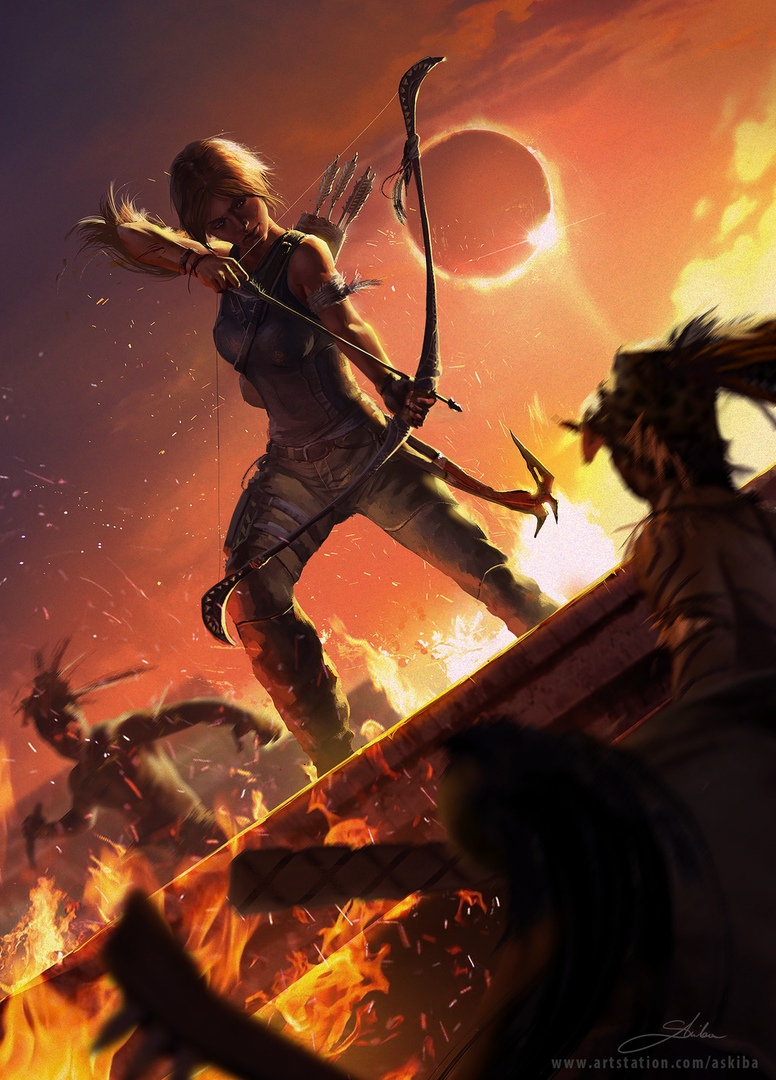 by askiba - Shadow of the Tomb Raider Арт
