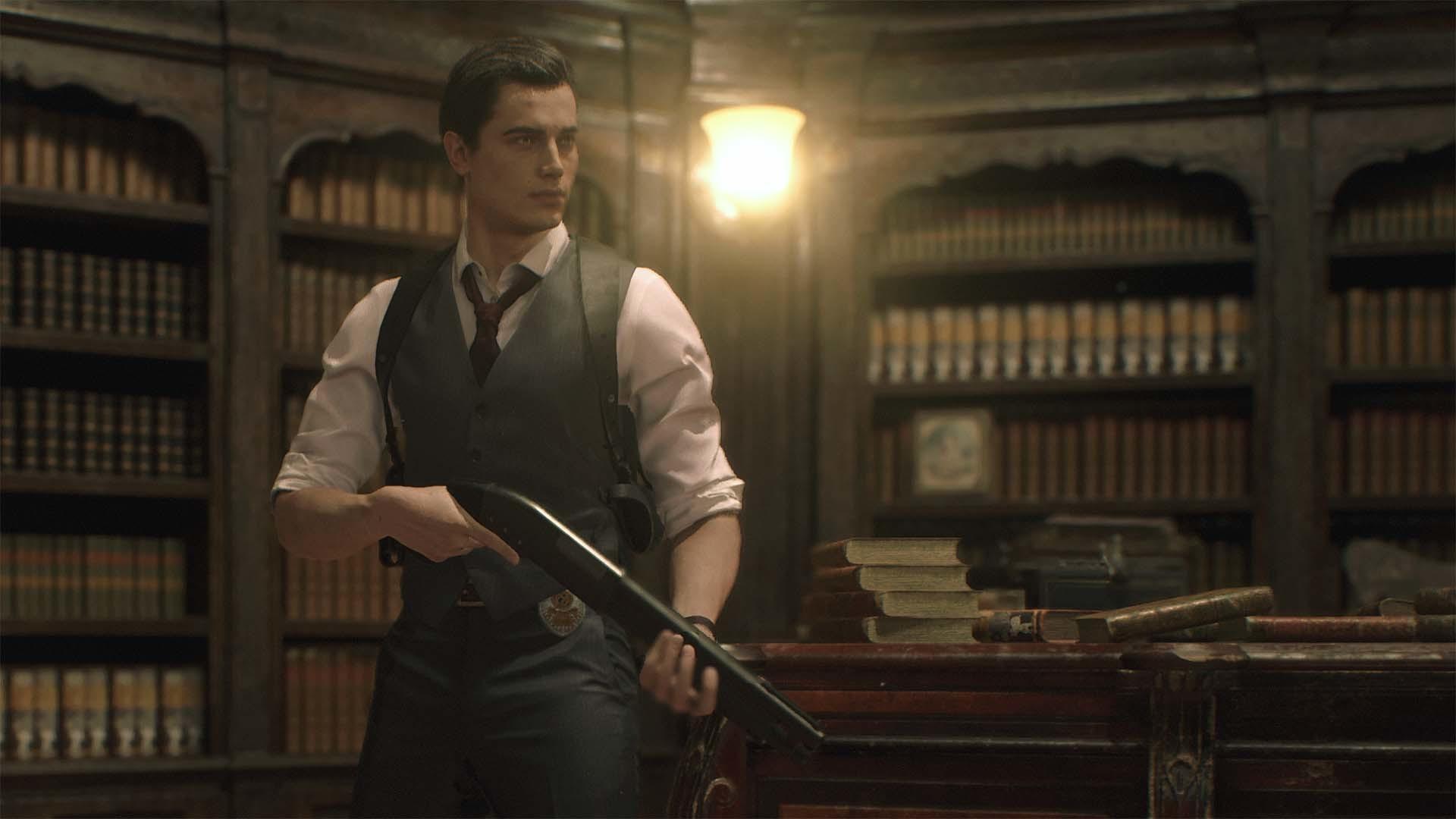 Resident Evil 2 станет похожа на нуар детектив в Deluxe издании - Resident Evil 2