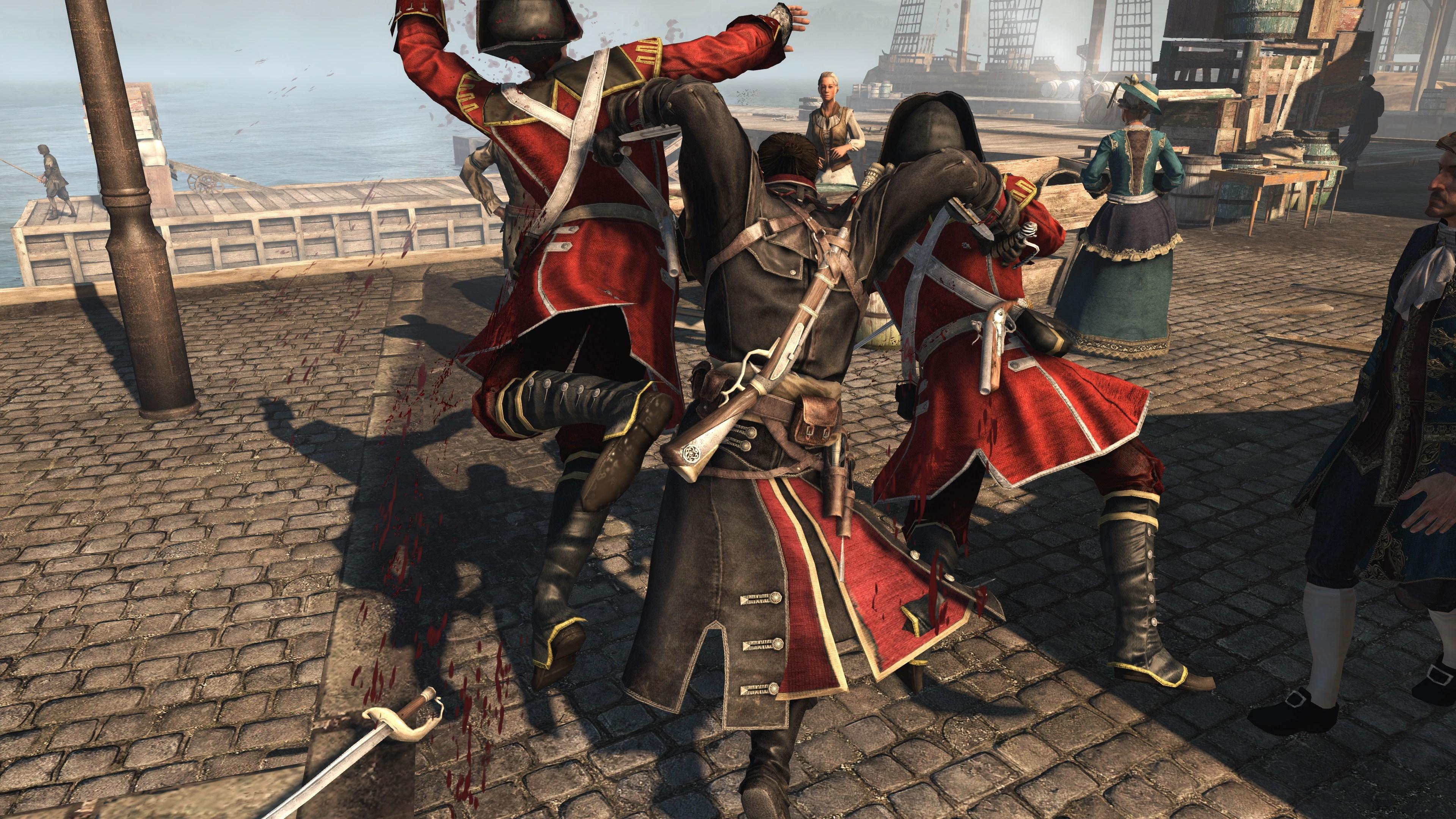 Максимальные настройки графики - Assassin's Creed: Rogue 4K