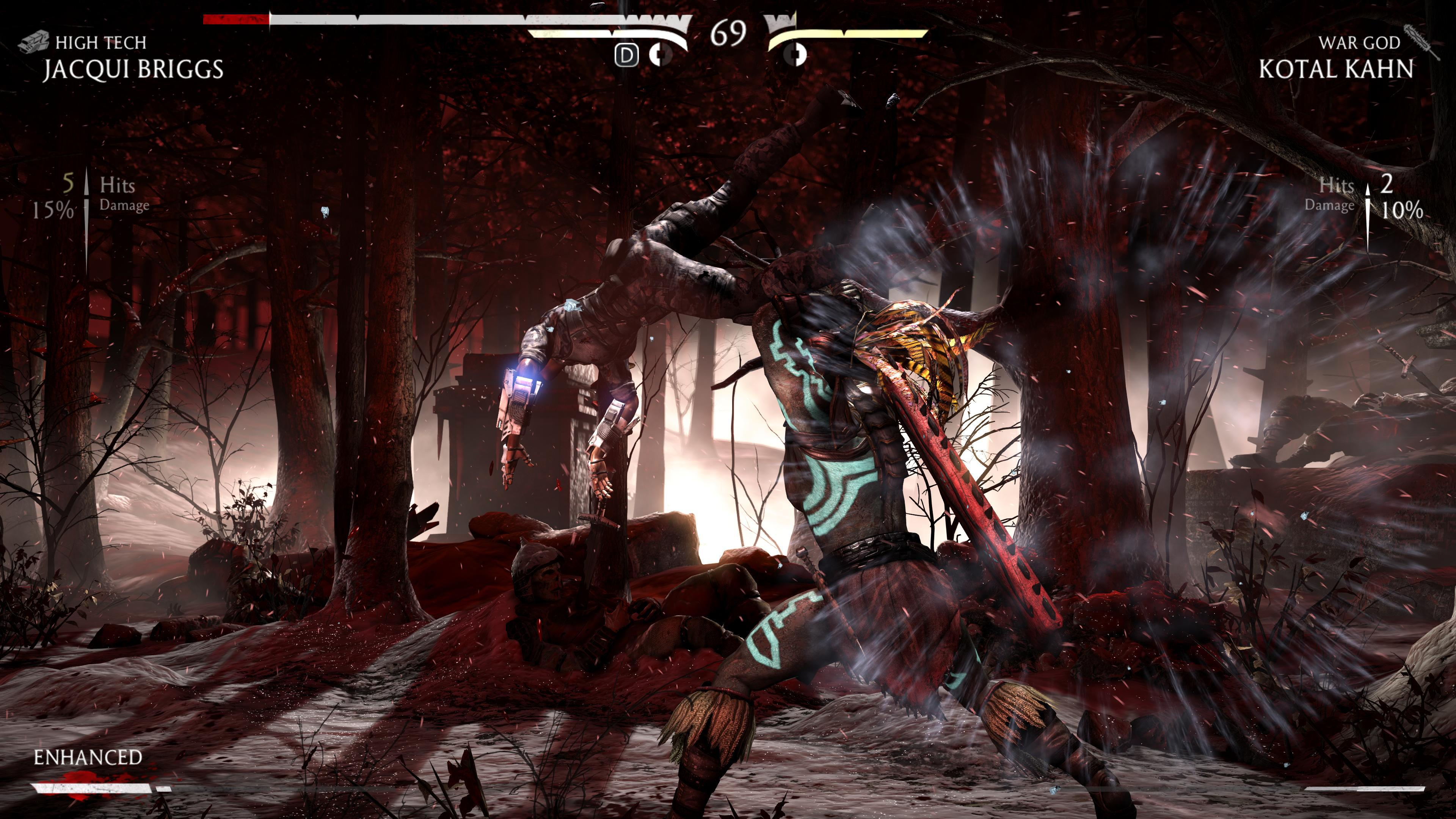 Максимальные настройки графики - Mortal Kombat X