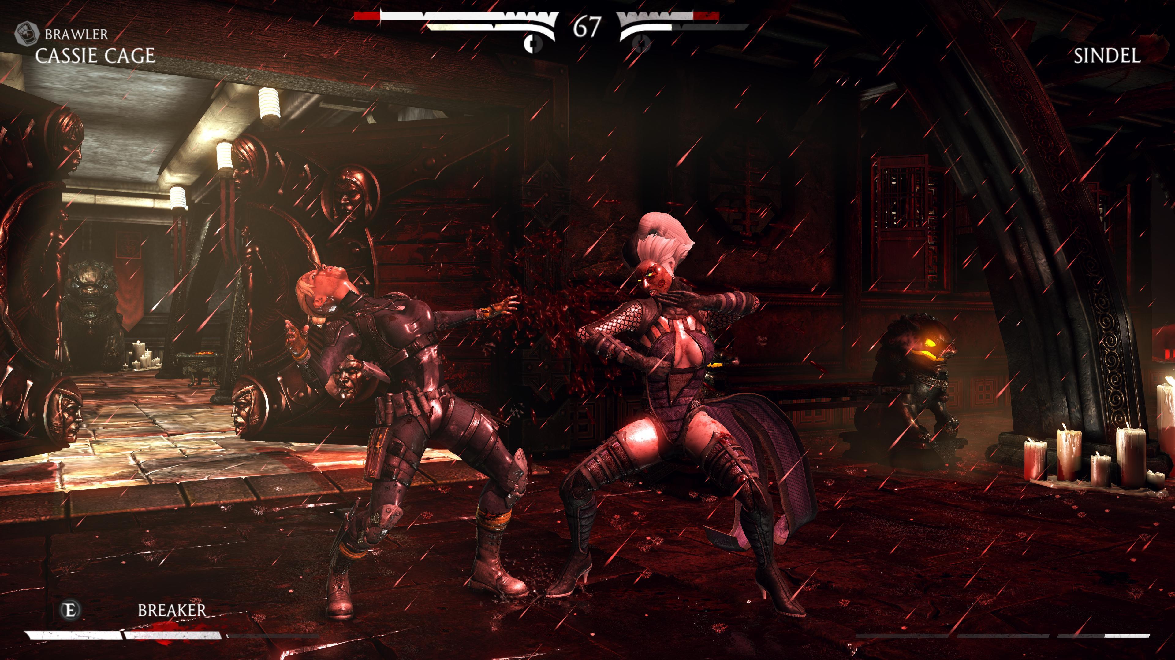 Максимальные настройки графики - Mortal Kombat X 4K, Скриншот