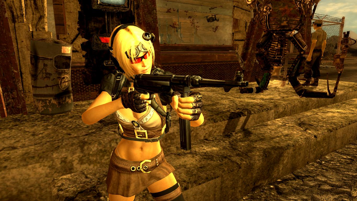 """Правильный захват немецкого автомата """"шмайсер"""". - Fallout: New Vegas"""