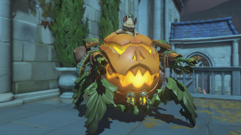 Хеллоуин - Overwatch 6K, Персонаж, Скин